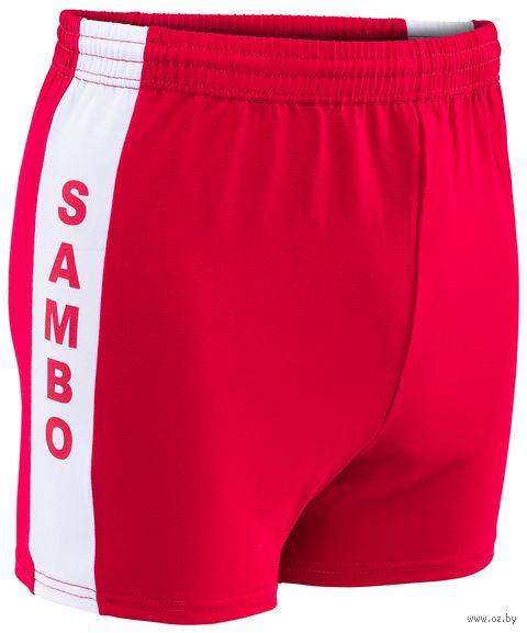 Шорты для самбо (р. 36; красные) — фото, картинка