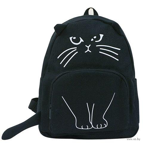 """Рюкзак """"Кот"""" (15 л; чёрный) — фото, картинка"""