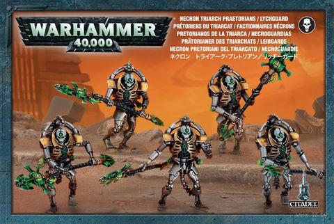 Warhammer 40.000. Necrons. Triarch Praetorians (49-07) — фото, картинка