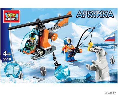"""Конструктор """"Арктика. Вертолет"""" (85 деталей) — фото, картинка"""