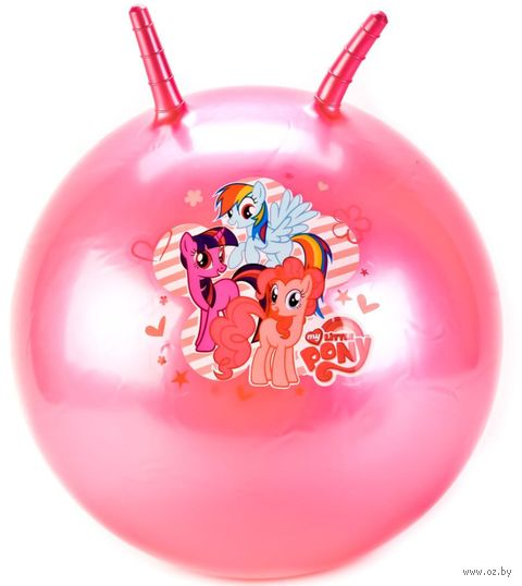 "Фитбол ""My Little Pony"" (55 см; с рожками) — фото, картинка"