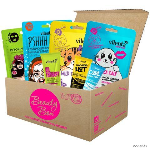 """Подарочный набор """"Beauty Box Wow"""" (7 масок для лица) — фото, картинка"""