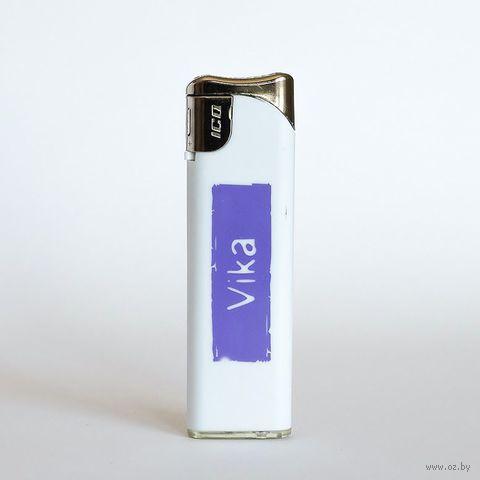 """Зажигалка Name Is """"VIKA"""""""