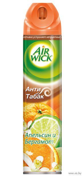 """Освежитель воздуха Air Wick """"Анти-табак. Апельсин и бергамот"""" (240 мл)"""