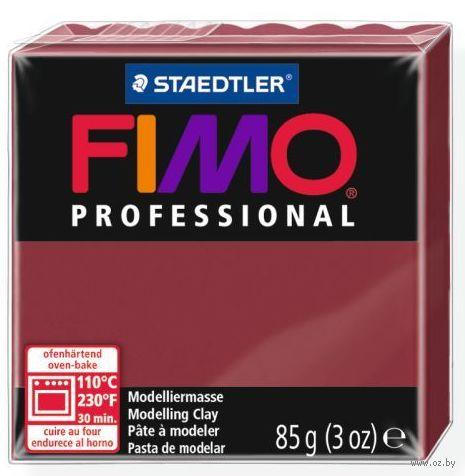 "Глина полимерная ""FIMO Professional"" (бордо; 85 г) — фото, картинка"