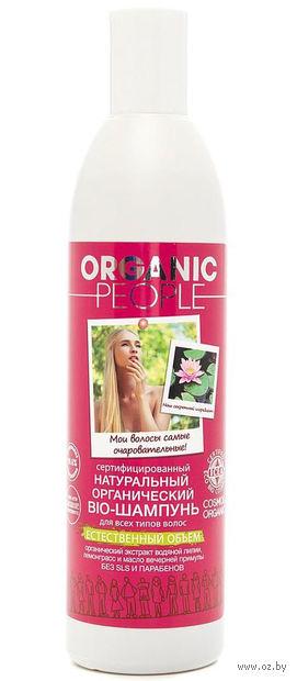 """Шампунь для волос """"Естественный объем"""" (360 мл) — фото, картинка"""