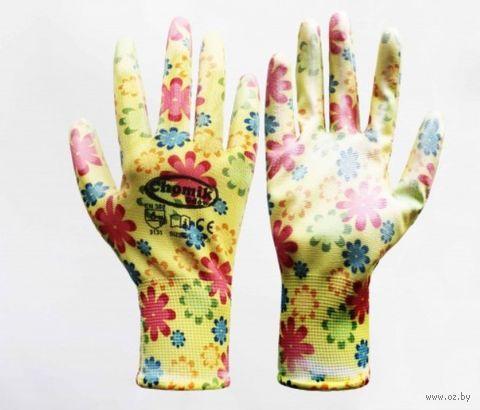 Перчатки для садовых работ (размер 9; арт. IDA1207) — фото, картинка