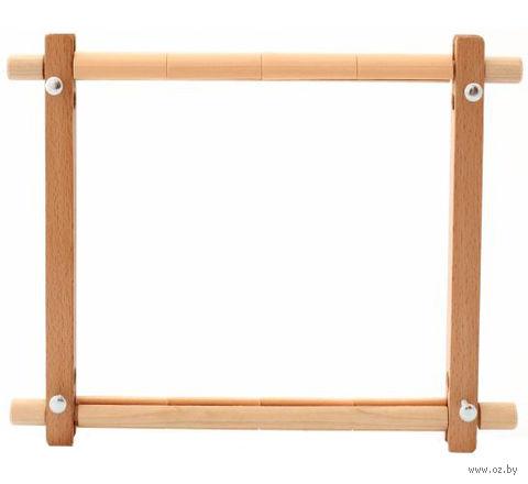 Пяльцы-рамки с клипсой (22х22 см) — фото, картинка