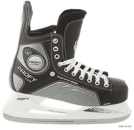 """Коньки хоккейные """"Profy Lux 5000"""" (р. 37) — фото, картинка"""