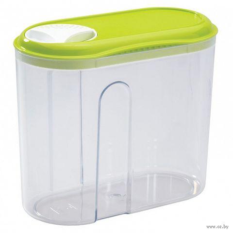 Банка для сыпучих продуктов пластмассовая (1 л; арт. 4312507) — фото, картинка