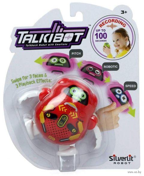 """Интерактивная игрушка """"Talkibot"""" (красный; со световыми эффектами) — фото, картинка"""