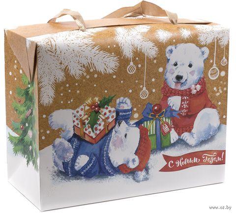 """Подарочная коробка """"С Новым Годом!"""" (арт. 25591102) — фото, картинка"""