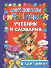 Мой первый английский учебник и словарик в картинках. Наталья Егорова