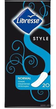 """Ежедневные прокладки Libresse Style """"Normal"""" (20 шт)"""