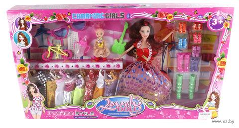 Кукла с аксессуарами (30 см; арт. K60-A3)