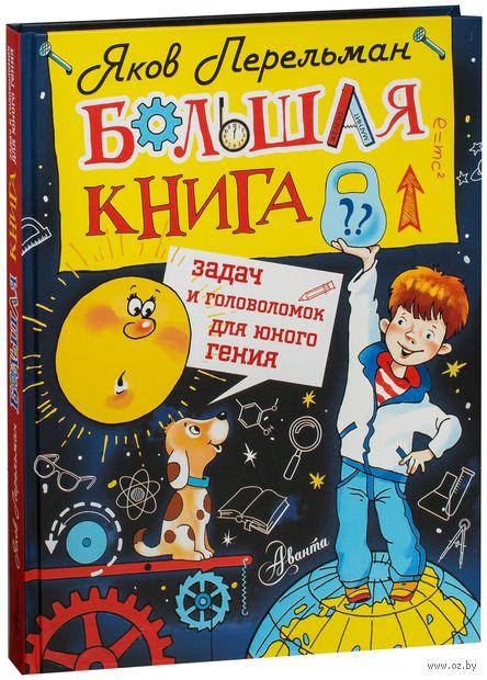 Большая книга задач и головоломок для юного гения — фото, картинка