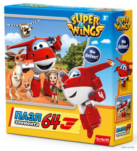 """Пазл """"SuperWings. Спасатели в Австралии"""" (64 элементов) — фото, картинка"""