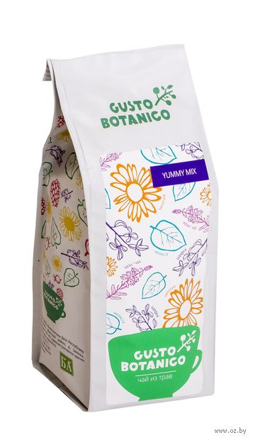 """Фиточай """"Gusto Botanico. Yummy Mix"""" (100 г) — фото, картинка"""