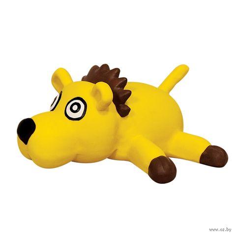 """Игрушка для собак с пищалкой """"Лев"""" (11,5 см) — фото, картинка"""