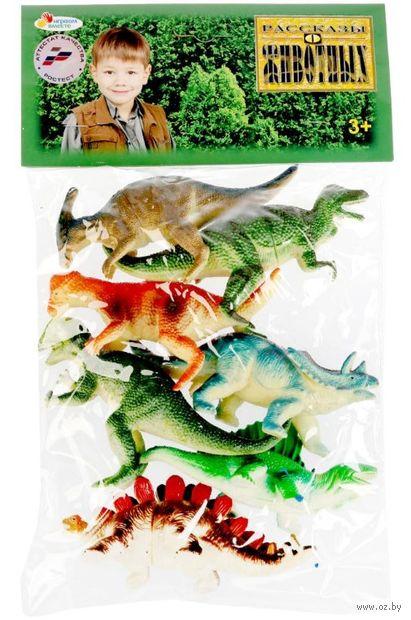 """Набор фигурок """"Динозавры"""" (7 шт.) — фото, картинка"""