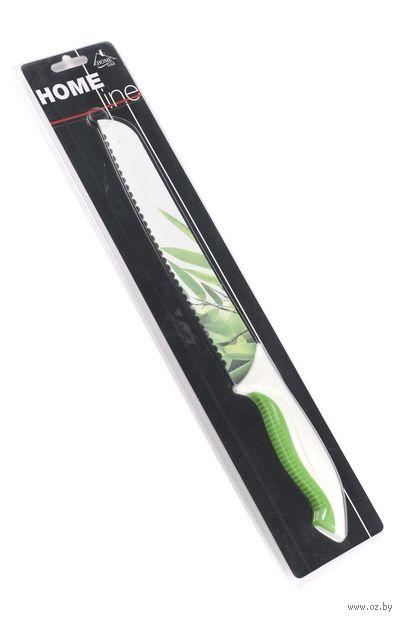 Нож металлический с антибактериальным покрытием с пластмассовой ручкой (20,3 см, арт. MS06-BF175D)