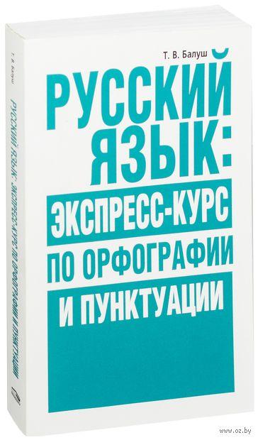Русский язык. Экспресс-курс по орфографии и пунктуации — фото, картинка