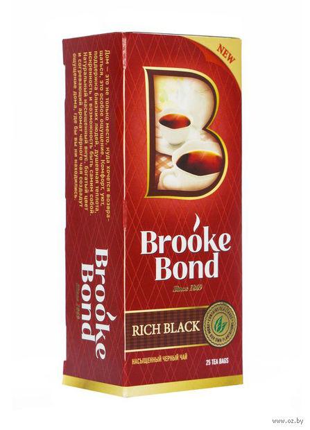 """Чай черный """"Brooke Bond"""" (25 пакетиков) — фото, картинка"""