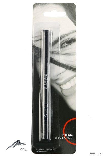 """Карандаш для глаз """"Waterproof Lip and Eye Pencil"""" водостойкий тон: 004 — фото, картинка"""