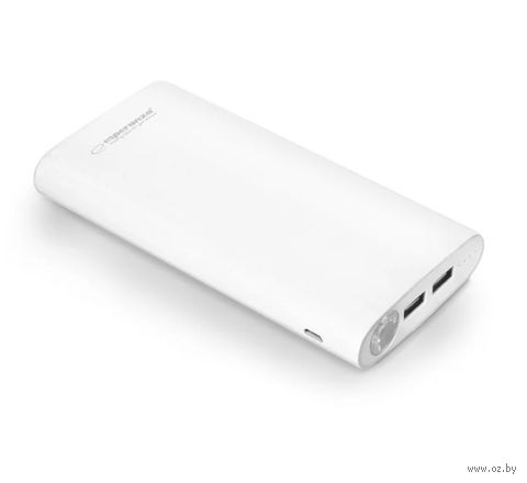 Внешний аккумулятор ESPERANZA NITRO 17400 mAh (белый) — фото, картинка