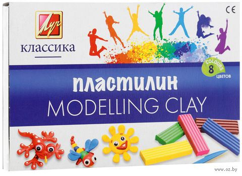 "Пластилин ""Классика"" (8 цветов)"