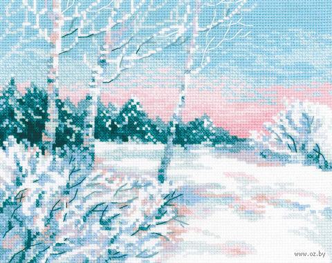 """Вышивка крестом """"Зимнее утро"""" (300х240 мм) — фото, картинка"""