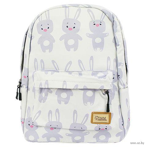 """Рюкзак """"Крольчата"""" (12 л; белый) — фото, картинка"""