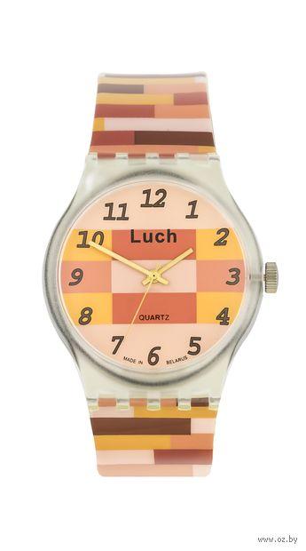 Часы наручные (коричнево-бежевые; арт. 724757155) — фото, картинка