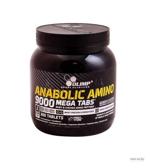 "Аминокислоты ""Anabolic Amino 9000 Mega Caps"" (300 таблеток) — фото, картинка"