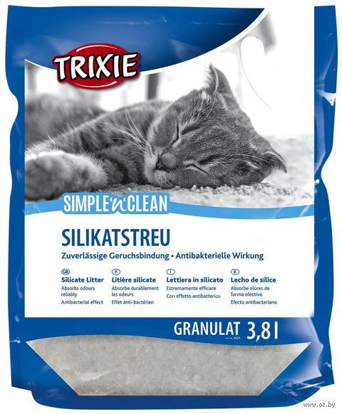 """Наполнитель для кошачьего туалета """"Simple and Clean"""" (3,8 л) — фото, картинка"""