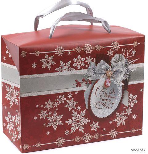 """Подарочная коробка """"С Новым Годом!"""" (арт. 25591106) — фото, картинка"""