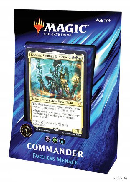 Magic the Gathering. Commander 2019. Faceless Menace — фото, картинка