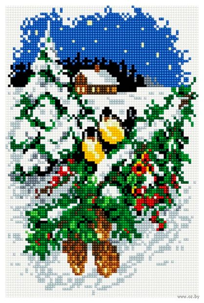 """Алмазная вышивка-мозаика """"Рождественская картина"""""""