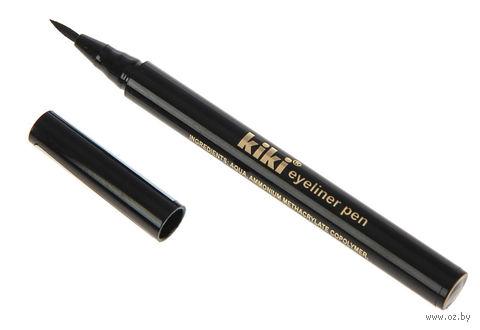 "Подводка-фломастер для глаз ""KIKI Eyeliner Pen"" (тон: черный) — фото, картинка"
