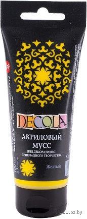 """Мусс акриловый """"Decola"""" (желтый; 100 мл) — фото, картинка"""