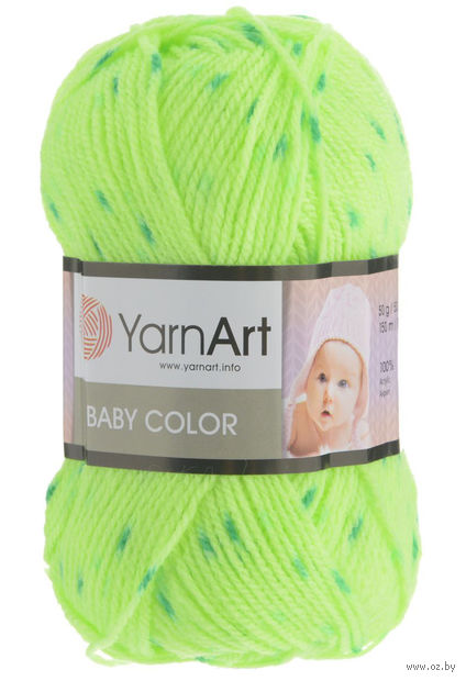 YarnArt. Baby Color №274 (50 г; 100 м) — фото, картинка