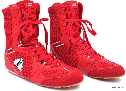 Обувь для бокса PS005 (р. 43; красная) — фото, картинка