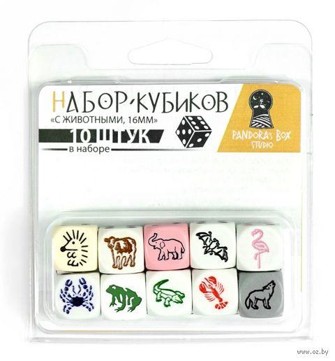 """Набор кубиков """"Животные"""" (10 шт.) — фото, картинка"""