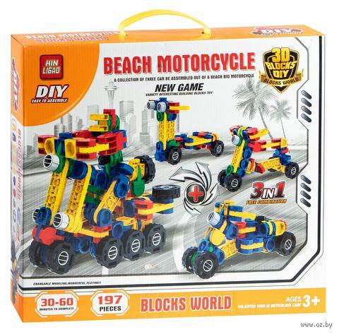 "Конструктор ""Beach Motorcycle"" (197 деталей) — фото, картинка"