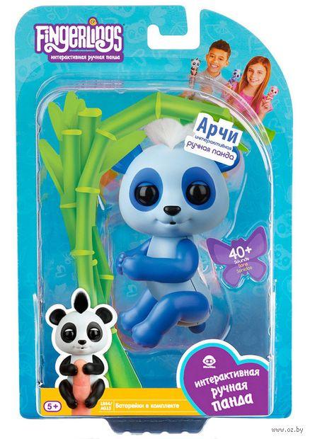 "Интерактивная игрушка ""Панда Арчи"" (12 см) — фото, картинка"