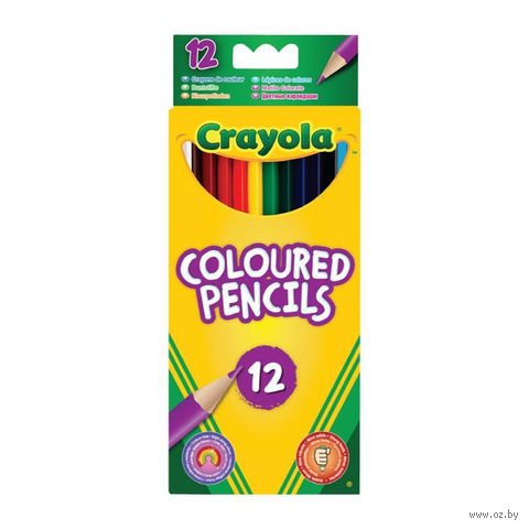 """Цветные карандаши """"Crayola"""" (12 цветов)"""