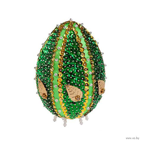 """Аппликация из пайеток """"Декоративное яйцо"""" (арт. ЯЦМ-02) — фото, картинка"""