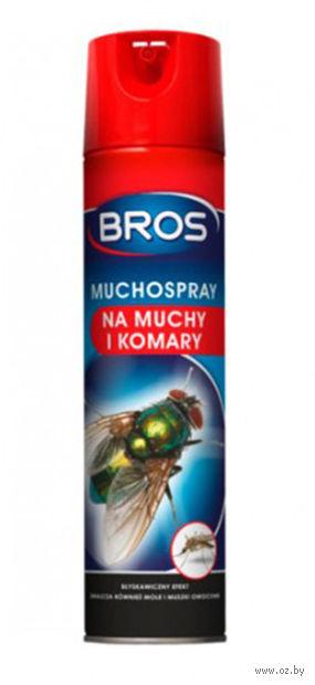 """Аэрозоль от насекомых """"Bros"""" (250 мл) — фото, картинка"""