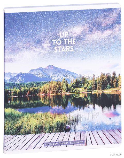 """Тетрадь полуобщая в клетку """"Up to the Stars"""" (48 листов; в ассортименте) — фото, картинка"""