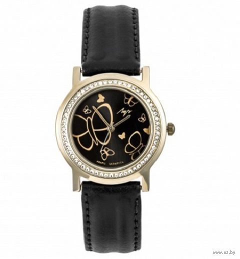 Часы наручные (чёрные; арт. 374387854) — фото, картинка